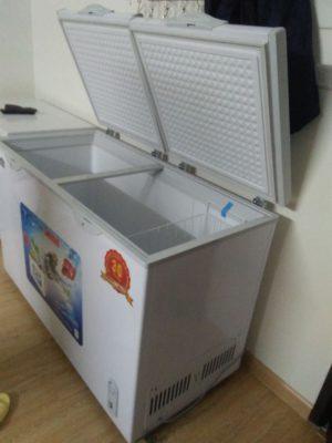 Tủ kem chuyên dụng Hòa Phát dung tích 352 lít, 1 ngăn đông